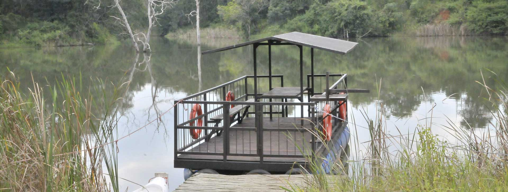 Tzaneen Country Lodge offers Sunset or Sunrise Cruise on the barge