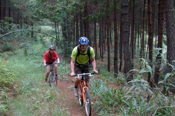 The Limpopo province has some of the most spectacular scenery and potential mountain bike trails in the country.