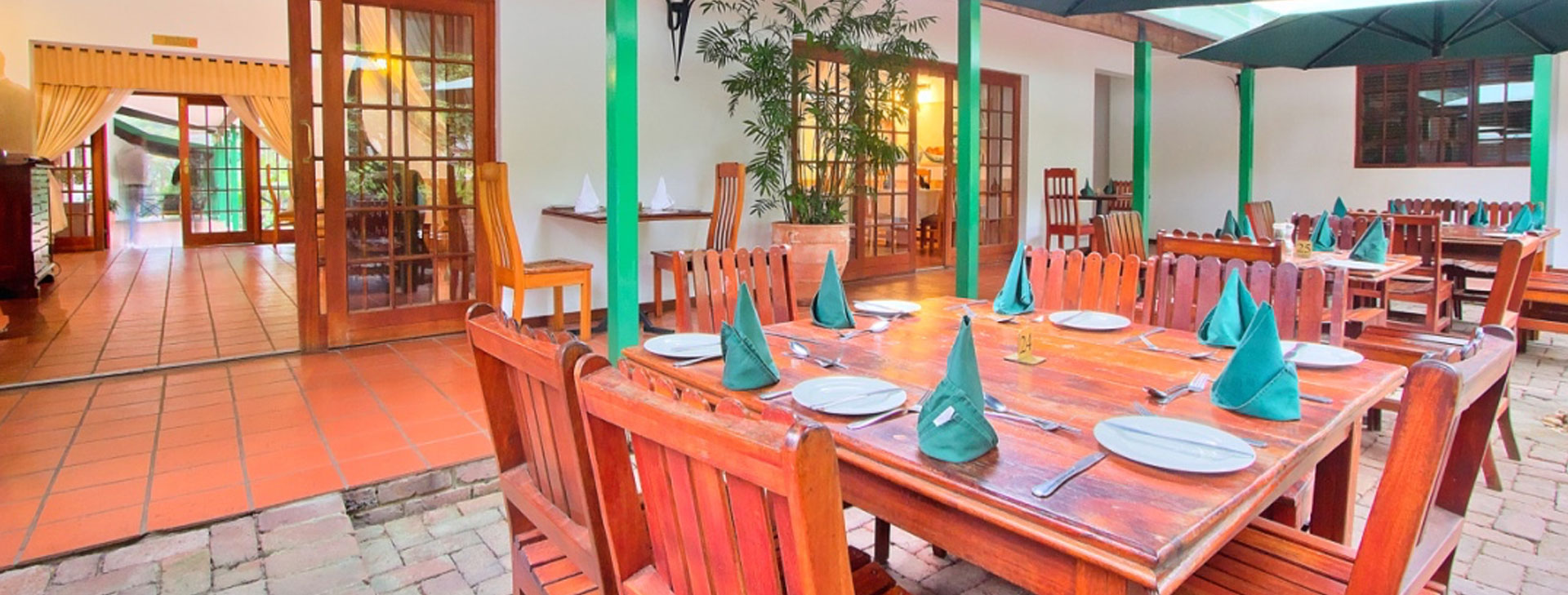 Enjoy our country cuisine in the Restaurant or on the terrace