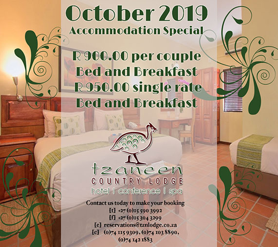 Accommodation October Special