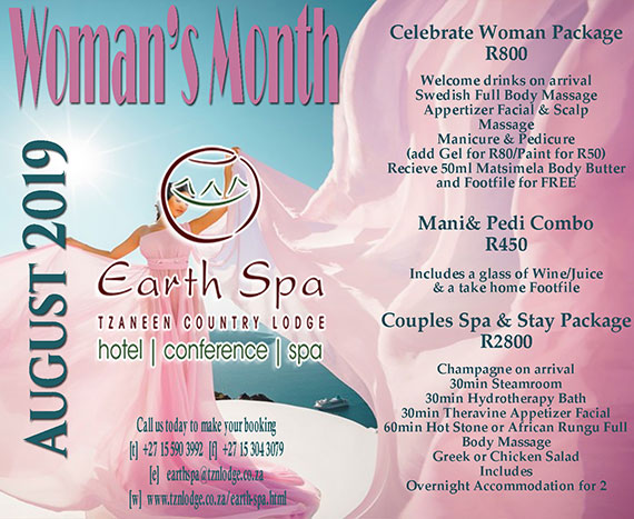Earth Spa Womans Day Special