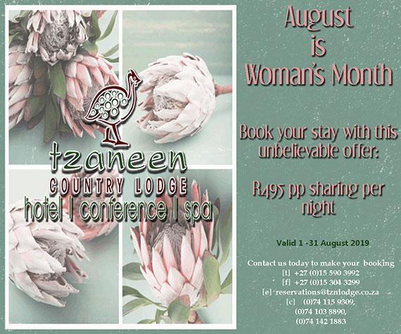 Womans Day Accommodation August Special