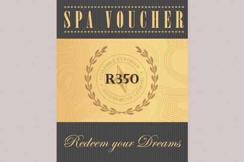 earth spa vouchers